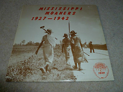 Mississippi Moaners-1927-1942 Vinyl Lp  Yazoo Clean Copy