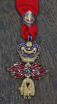 Austria – Hungary, Order of the Golden Fleece large size