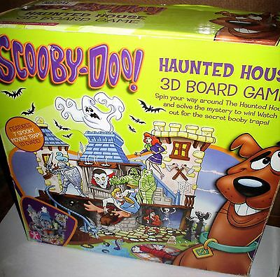 Scooby Doo Haunted House 3D Board Game  - Complete