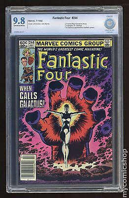 Fantastic Four (1961 1st Series) #244 CBCS 9.8