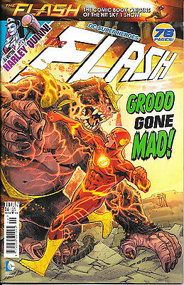 Titan Comics - DC Superheroes: The Flash No.6 featuring Harley Quinn, 76 pages!