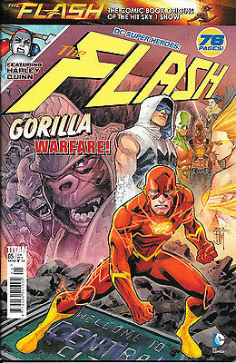 Titan Comics - DC Superheroes: The Flash No.5 featuring Harley Quinn, 76 pages!