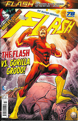 Titan Comics - DC Superheroes: The Flash No.7 featuring Harley Quinn, 76 pages!