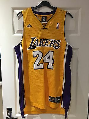 *M* LA LAKERS Basketball Jersey KOBE BRYANT #24 (Length +2)