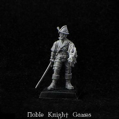 Brother Vinni Renaissance Mini 28mm Don Pedro - Empire Duelist Pack MINT