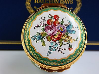 Halcyon Enamel Over Copper Box, Wallace Collection Sevres Porcelain Design