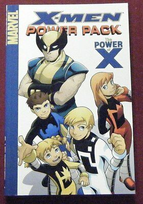 X-MEN AND POWER PACK ~ Graphic Novel - Marc Sumerack - Wolverine
