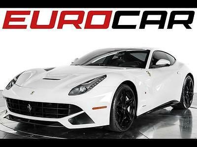 2014 Ferrari Other  2014 Ferrari F12 Berlinetta - Stunning White Paint, Only 10,252 miles, Pristine!