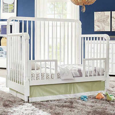 Eco Chic Baby Kennedy Toddler Guard Rail - Pure White