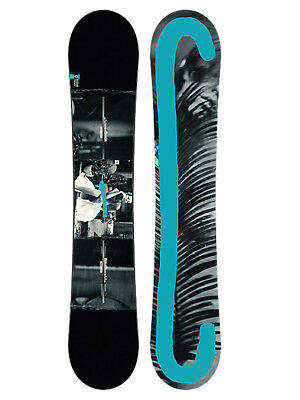 Burton Custom Twin Flying V Wide Park/All Mountain Snowboard 2017 Größe: 158w