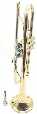 Linley Trumpet Student/ Intermediate Gold Lacquer - Free Post