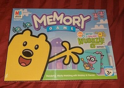 Memory Game Wow Wow Wubbzy Edition BRAND NEWFACTORY SEALED NICK JR GAME TV SHOW