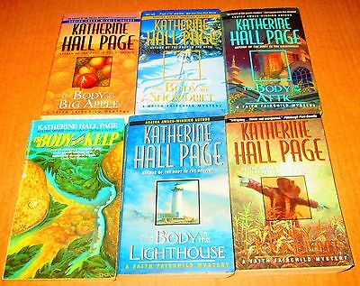 KATHERINE HALL PAGE Lot of 6- SOFTCOVERS/MYSTERY-Moon Light, Attic, Snowdrift,