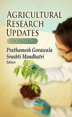 Agricultural Research Updates, 9781536107944