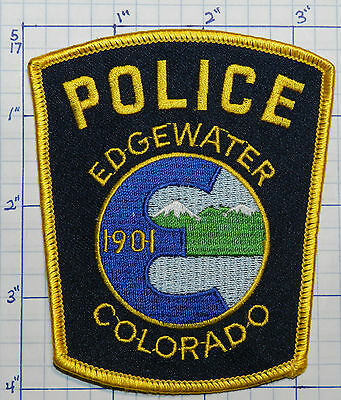 Colorado, Edgewater Police Dept Patch