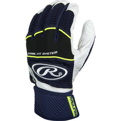 Rawlings Workhorse WORKCSBG-N-90 Navy L Batting Gloves