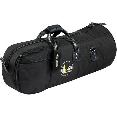 Gard Mid-Suspension Baritone Horn Gig Bag 44-MSK Black Synthetic w/ Leather Trim