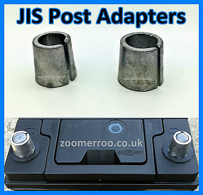 Japanese Car Battery Terminal Post  Adaptors Adapters - Small Post Conversion