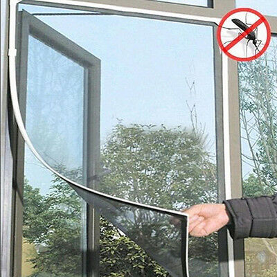 Anti-Insect Fly Bug Mosquito Door Window Curtain Net Mesh Screen Protector DIY
