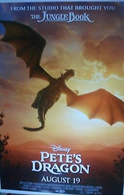 Pete's Dragon  Movie Poster  Double Sided Poster