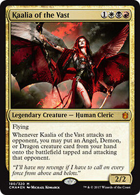 Kaalia of the Vast (Kaalia von der Weite) Commander Anthology Magic