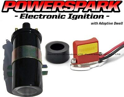 BUNDLE DEAL 43D 59D 45D distributor electronic ignition kit + Powerspark Coil