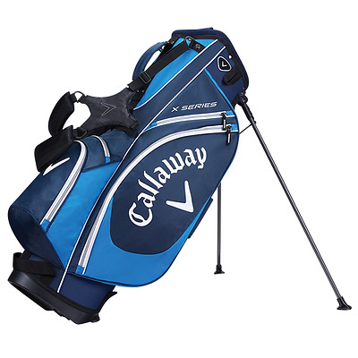 Brand New 2017 Callaway Golf X Series Stand / Carry Bag - Navy / Blue / White
