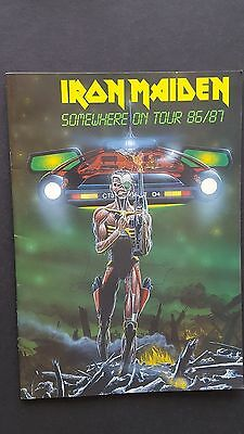 Iron Maiden - 1986 Somewhere on Tour Programme