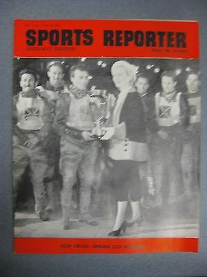 SPORTS REPORTER Speedway Edition  May 19th 1950 New Cross