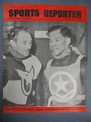 SPORTS REPORTER Speedway Edition  May 5th 1950 Harringay & Odsal