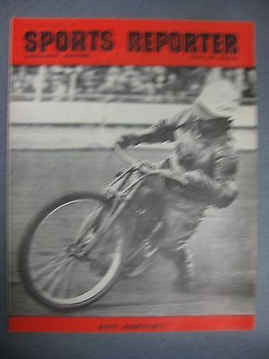 SPORTS REPORTER Speedway Edition  April 29th 1950 Ron Johnson