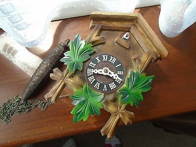 Cuckoo Clock with  Weight