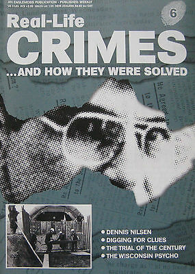 Real-Life Crimes Issue 6 - Dennis Nilsen, Ed Gein, O.J. Simpson