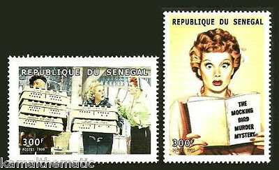 Films, I Love Lucy, TV Comedy Series, Lucille Ball, Actress, SENEGAL 1999  - M21