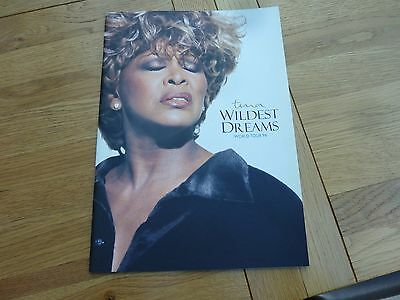 1997 Tina Turner Wildest Dreams World Large Tour Programme 13 X 9.5 Inch