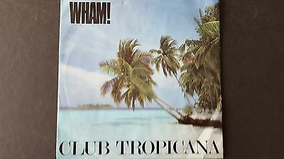 super condition,WHAM! CLUB TROPICANA,7 INCH,45.1983 RECORD.PICTURE SLEEVE