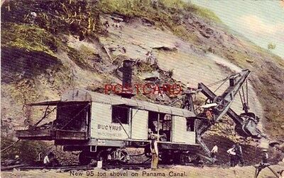 NEW BUCYRUS 95 TON SHOVEL built in South Milwaukee, Wisconsin ON PANAMA CANAL