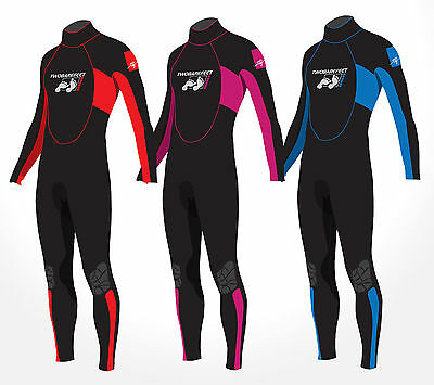 TBF Signature Kids Childs Junior 2.5mm Full Length Wetsuit Clearance Sale