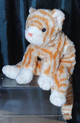 Ty Beanie Buddies 11 Inch Amber The Cat Soft / Plush Toy