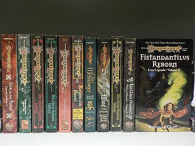 'Dragonlance' Fantasy - Various Authors - 11 Books Collection! (ID:47621)