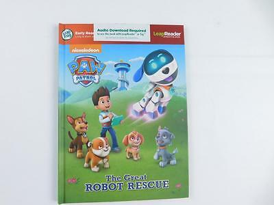 LeapFrog LeapReader Book Paw Patrol The Great Robot Rescue Lernspielzeug Buch