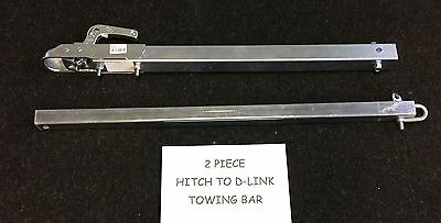 New 3.5Ton Recovery Tow Pole Towing Bar Vehicle Dolly Car Van 4X4 A Frame