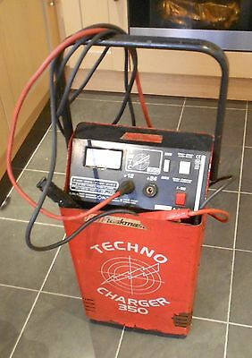 Taskmaster Techno Battery Charger 12/24V Used & Working