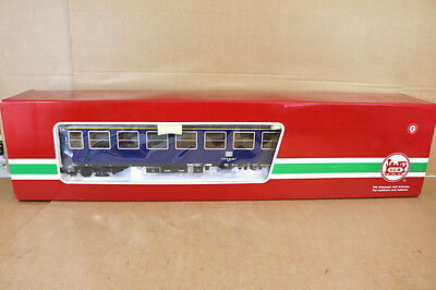 LGB 36313 G SCALE DB BLUE EXPRESS 1st CLASS COACH 904-7 with LIGHT MINT BOXED nk