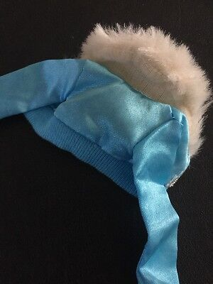 Barbie My Scene Doll Clothes Kennedy Un-Fur-gettable Blue Jacket Faux Fur Trim