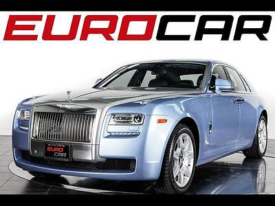 2013 Rolls-Royce Ghost Base Sedan 4-Door Rare Lazuli Blue Paint, Fleet Blue Leather Interior w/ Wood Veneer, Low Mileage!