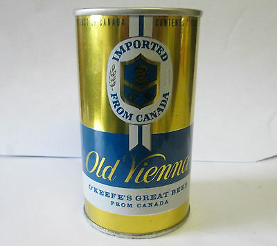 Old Vienna Beer  Carling Okeefe Ltd 11 1/2Oz Early Style Pull Tab Can - Toronto