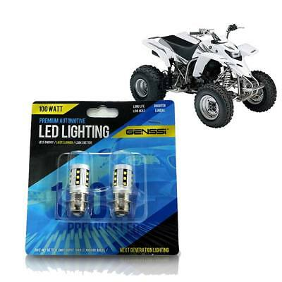 High Power HID LED Headlight H6 Bulb Lights for Yamaha Blaster 200 1995-2006