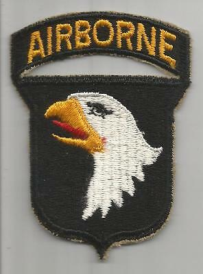 WW 2 US Army 101st Airborne Division Patch With Attached Tab Inv# K354