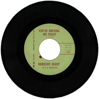"Dorothy Berry  ""you're Driving Me Crazy""  Northern Soul / R&b"